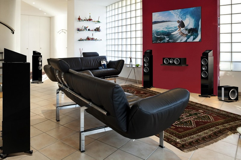 tv lautsprecher f r den fernseher modernhifi. Black Bedroom Furniture Sets. Home Design Ideas