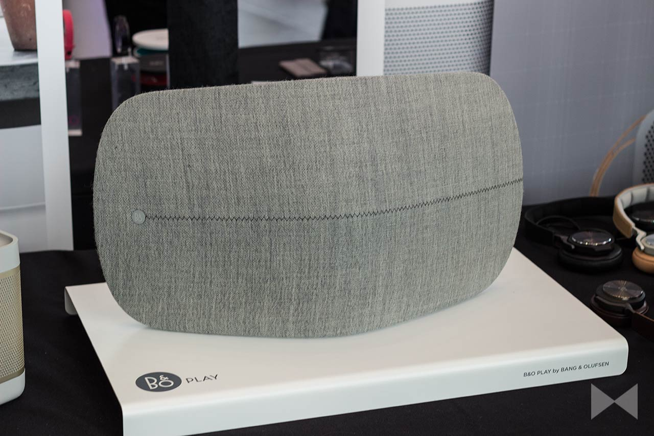 bang olufsen beoplay a6 curved speaker modernhifi. Black Bedroom Furniture Sets. Home Design Ideas