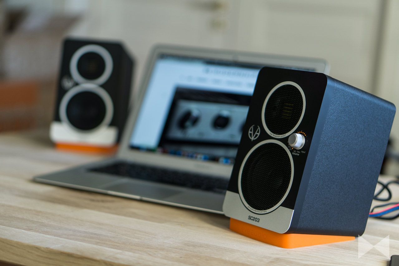 Eve-Audio-SC203-Test Aktivlautsprecher