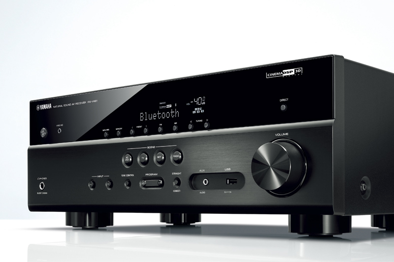 yamaha av receiver 2016 mit musiccast und 3d surround. Black Bedroom Furniture Sets. Home Design Ideas