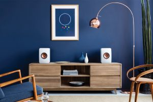 KEF LS50 Wireless Aktivlautsprecher mit Bluetooth- und WLAN-Streaming